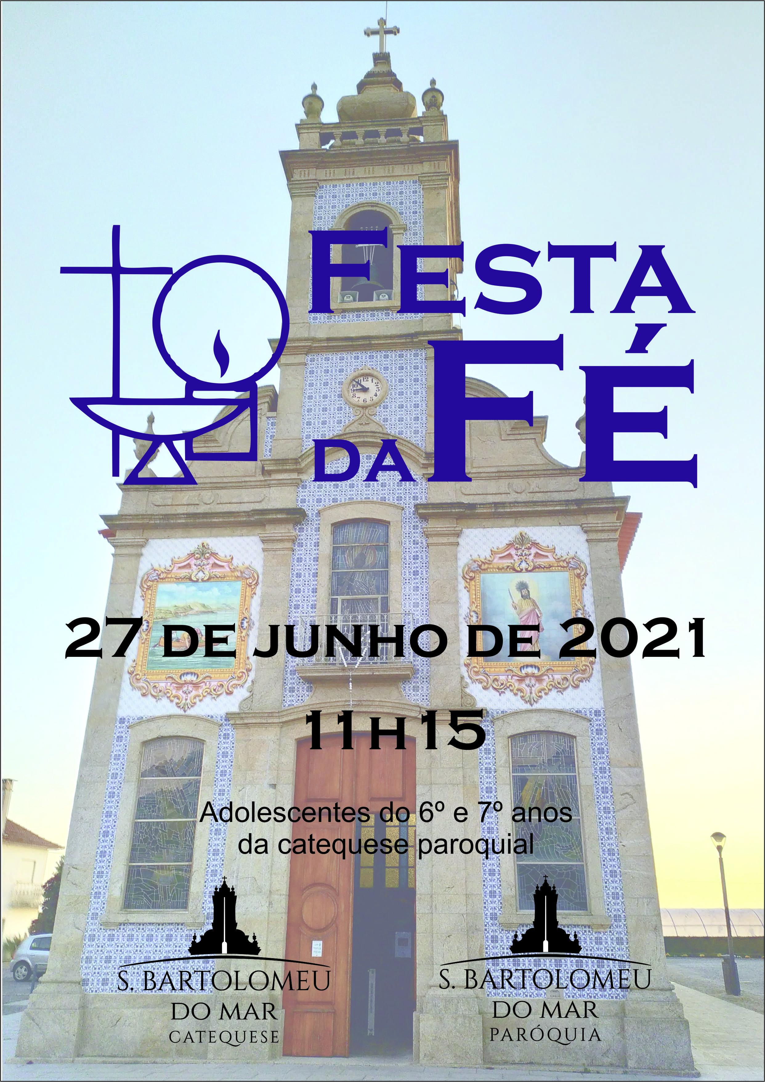 Festa da Fé - Cartaz
